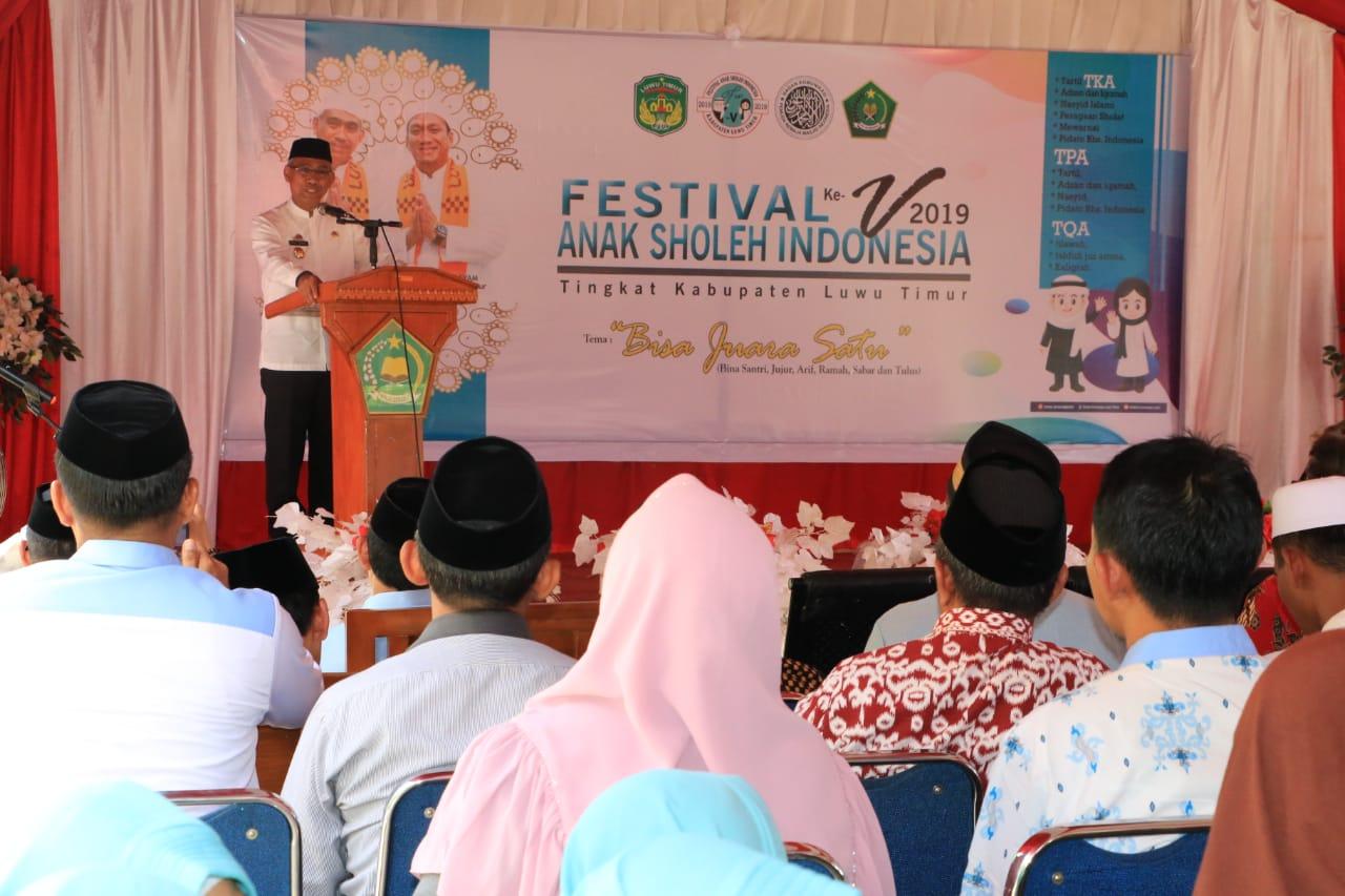 Husler Festival Anak Soleh Ajang Lomba Pendidikan Al